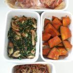凝った料理ではなく、使い回しやすい常備菜作り。今週は20分で4品つくりました。