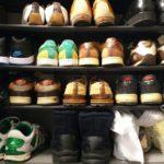 物を捨てられない主人が、また靴を買いました。