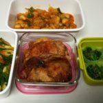 今週の作り置き!運動会の代休もあるので子供のお弁当分も作りました。