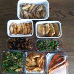 今週の作り置き!週の半ばは、野菜を消費する料理に決めました!