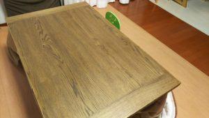 勉強机は購入しなかったけど、こたつテーブルは購入した!その理由は