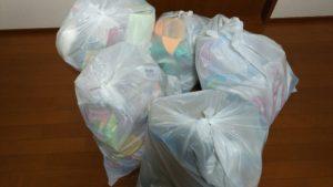 キッチンからでたゴミの量の多さに驚いた