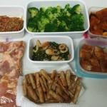 作り置きおかず!弁当、夜ご飯用に作っておきます。