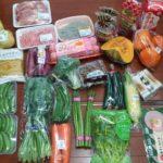 1週間分の食材を購入しました。今週はこれぐらいです。