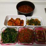 今週の作り置きは6品です。煮込み料理を作ると他のことが出来る